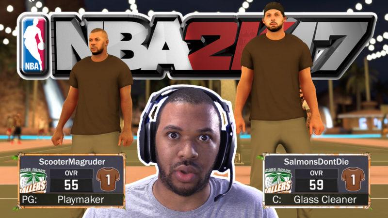 BROWN SHIRT BALLERS [NBA 2K17 MYPARK #1] Thumbnail