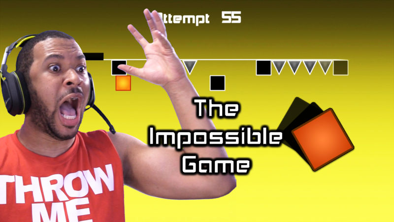 I HATE THIS GAME!!! [THE IMPOSSIBLE GAME - LEVEL TWO] Thumbnail