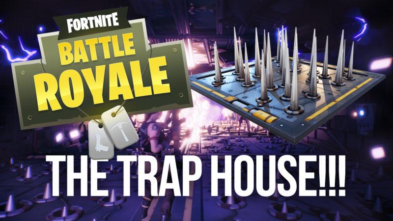THE TRAP HOUSE!!! [FORTNITE #2] Thumbnail