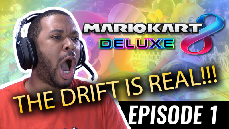 THE DRIFT IS REAL!!! [MARIO KART #1] Thumbnail