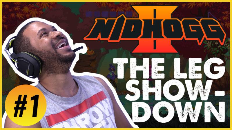 THE LEG SHOWDOWN!!! [NIDHOGG 2 #1] Thumbnail