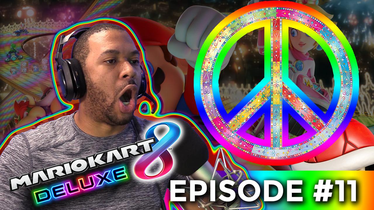 THE PEACE TREATY!!! [MARIO KART #11] Thumbnail