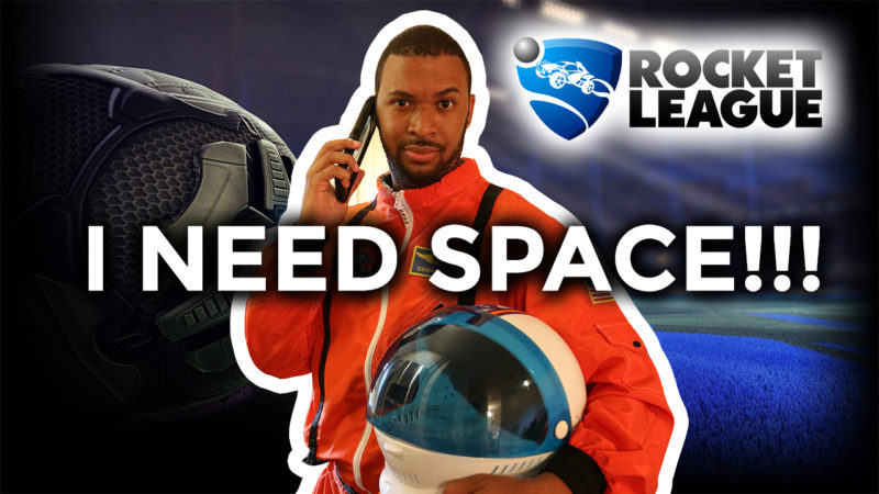I NEED SPACE!!! [ROCKET LEAGUE #64] Thumbnail