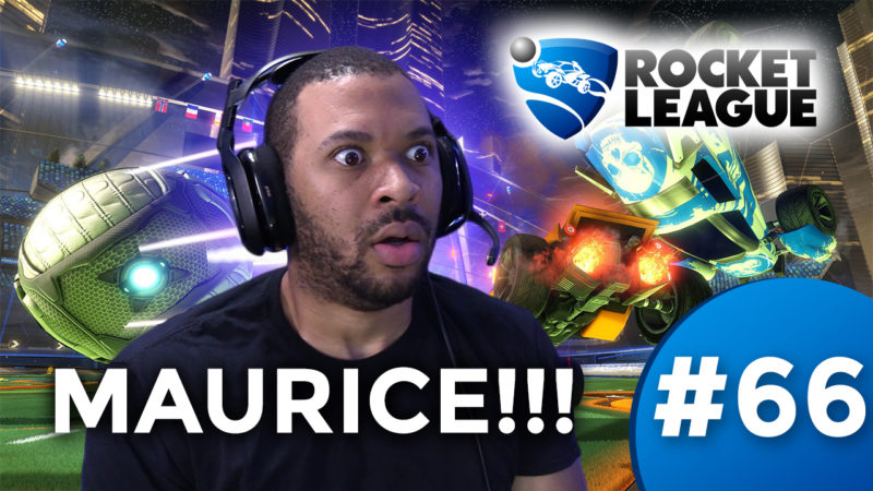 MAURICE, I UNLEASH YOU!!! [ROCKET LEAGUE #66] Thumbnail