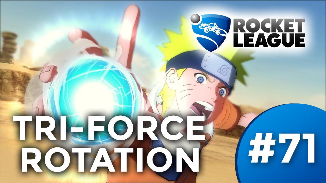 TRI-FORCE ROTATION [ROCKET LEAGUE #71] Thumbnail